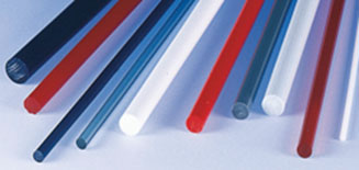 Plastic rods / round bars